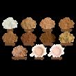 ZAO Ásványi selyempor alapozó utántöltő sand beige árnyalatban