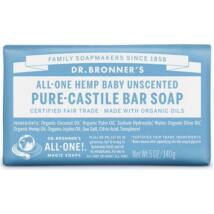 Dr. Bronner's Illatmentes szilárd szappan  (140 g)