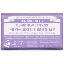 Dr. Bronner's Levendula szilárd szappan (140 g)