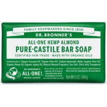 Dr. Bronner's Mandula szilárd szappan (140 g)