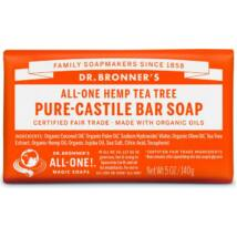 Dr. Bronner's Teafa szilárd szappan (140 g)