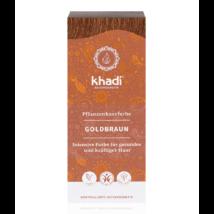 Khadi Növényi hajfesték por aranybarna (100 g)