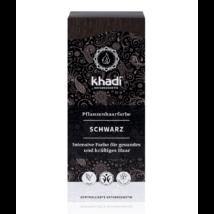 Khadi Növényi hajfesték por fekete