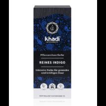 Khadi Növényi hajfesték por kékesfekete (indigó) (100 g)