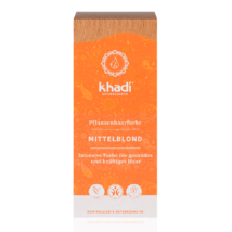Khadi Növényi hajfesték por középszőke (100 g)