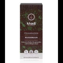 Khadi Növényi hajfesték por mogyoróbarna (100 g)