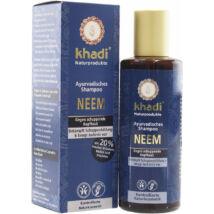 Khadi Ayurvédikus bio sampon - neem (korpás hajra) (210 ml)
