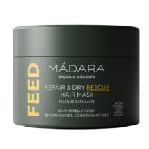 Mádara Feed Regeneráló és színmegőrző tápláló hajmaszk (180 ml)
