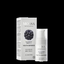 Mossa Regeneráló szemkörnyékápoló szederrel és omega 3-6 zsírsavakkal (15 ml)
