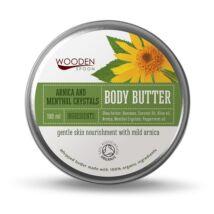 Wooden Spoon Bio testápoló vaj - Mentolos kristály (100 ml)