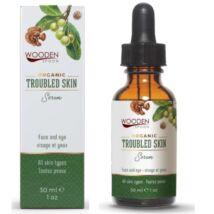 Wooden Spoon Bio arcápoló szérum problémás bőrre ÚJ - közeli lejárat (30 ml)