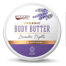 Wooden Spoon Bio testápoló vaj - Levendula álom ÚJ