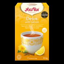 Yogi Tisztító tea citrommal - filteres (17 db)