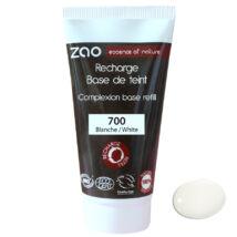 ZAO Sminkelőkészítő alapozó krém utántöltő white base árnyalatban (30 ml)