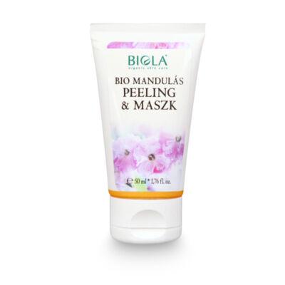 Biola Bio Mandulás peeling&maszk (50 ml)