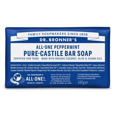 Dr. Bronner's Borsmenta szilárd szappan