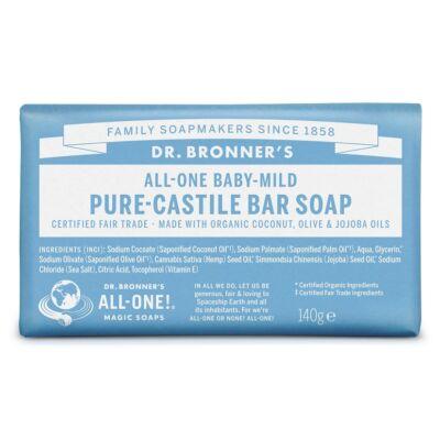 Dr. Bronner's Illatmentes szilárd szappan