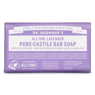 Dr. Bronner's Levendula szilárd szappan