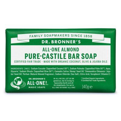 Dr. Bronner's Mandula szilárd szappan