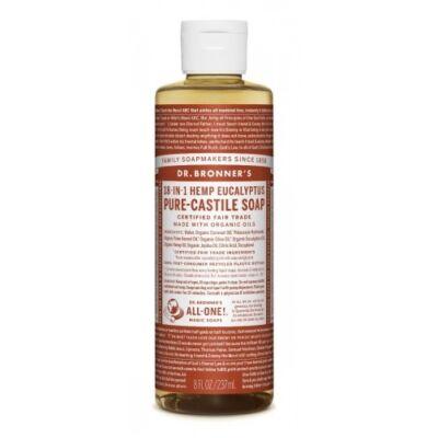 Dr. Bronner's Eukaliptusz folyékony szappan koncentrátum