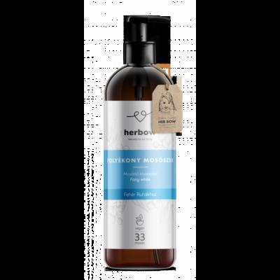 Herbow Folyékony mosószer fehér ruhákhoz - friss illat (1000 ml)