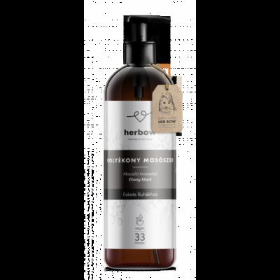 Herbow Folyékony mosószer fekete ruhákhoz - aloe vera (1000 ml)