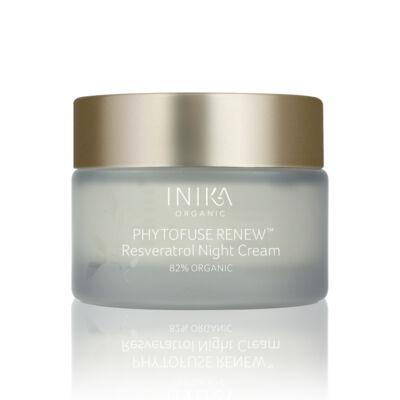 INIKA Skincare Phytofuse Renew Resveratrol Bőrmegújító éjszakai krém (50 ml)