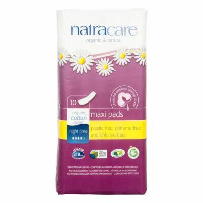 Natracare bio betét - éjszakai (10 db)