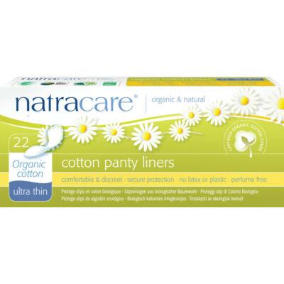 Natracare bio tisztasági betét - ultra vékony (22 db)