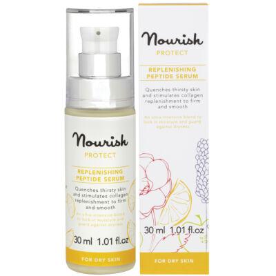 Nourish Protect: Újrafeltöltő peptid szérum - száraz bőrre