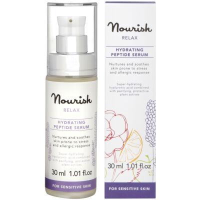 Nourish Relax: Hidratáló peptid szérum - érzékeny, irritált bőrre