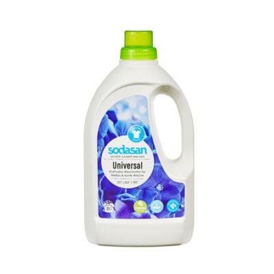 Sodasan BIO folyékony általános mosószer lime (fehér és színtartó ruhákhoz) (1,5 l)