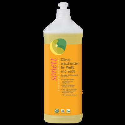 Sonett Folyékony mosószer gyapjúhoz és selyemhez - olíva (1 l)