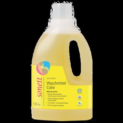 Sonett Folyékony mosószer színes ruhához - menta és citrom