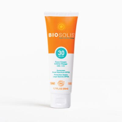 Biosolis Fényvédő arckrém SPF30 (50 ml)