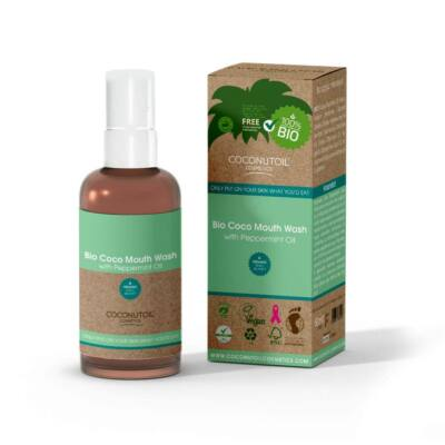 Coconutoil Bio Coco szájvíz borsmentával (100 ml)