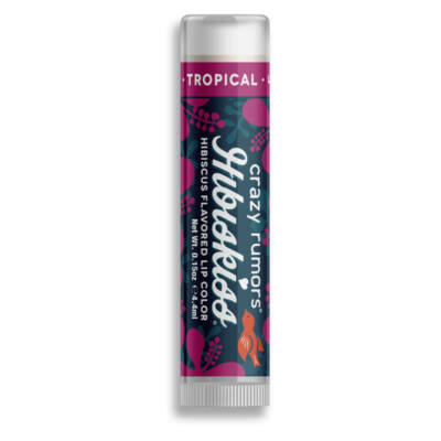 Crazy rumors Hibiskiss színezett ajakápoló balzsam - Tropical (4,25 g)