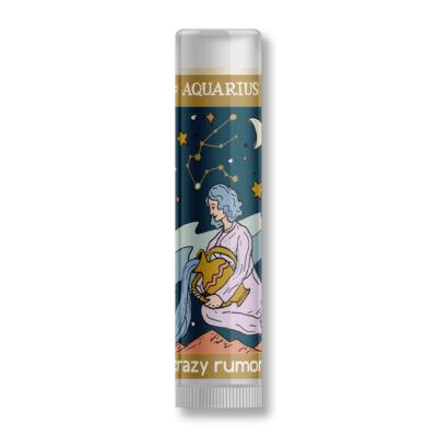 Crazy rumors Horoszkópos ajakápoló balzsam - Vízöntő (4,25 g)