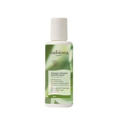 Eubiona Sampon korpás hajra: nyír-olíva levél - irritált fejbőrre