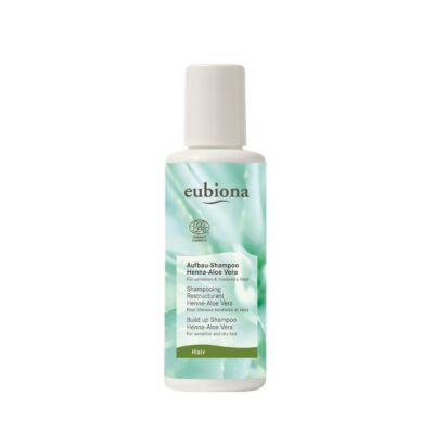 Eubiona Tápláló sampon: henna-aloe vera - érzékeny, száraz hajra