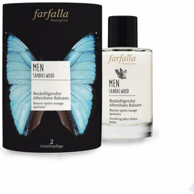 Farfalla men Szantálfa natúr borotválkozás utáni balzsam