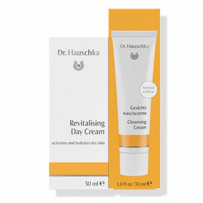 Dr. Hauschka Harmónia Duó - Arcápoló tej + Ajándék Mélytisztító (30 + 30 ml)