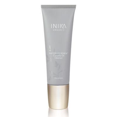 INIKA Skincare Phytofuse Renew Kaméliaolajos arctisztító (100 ml)ztó arcradír (75 ml)