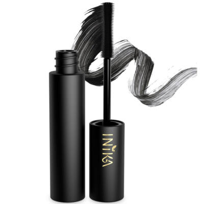 INIKA Long lash vegán szempillaspirál - black (8 ml)
