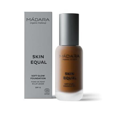 Mádara Skin Equal Soft Glow Folyékony alapozó - Chestnut #90 (30 ml)