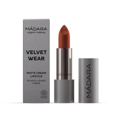Mádara Velvet Wear Matt krémes ajakrúzs - magma (3,8 g)