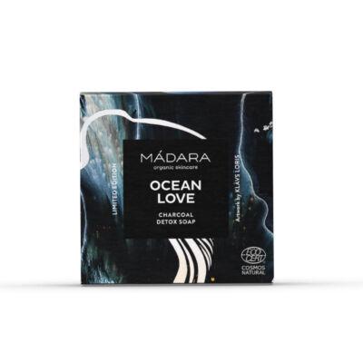 Mádara Ocean Love Detox szappan aktív szénnel (90 g)