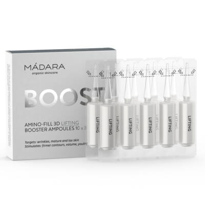 Mádara Amino-fill 3D Lifiting Booster ampullák (10×3 ml)