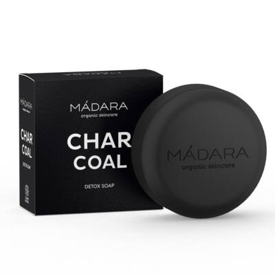 Mádara Detox szappan aktív szénnel (90 g)