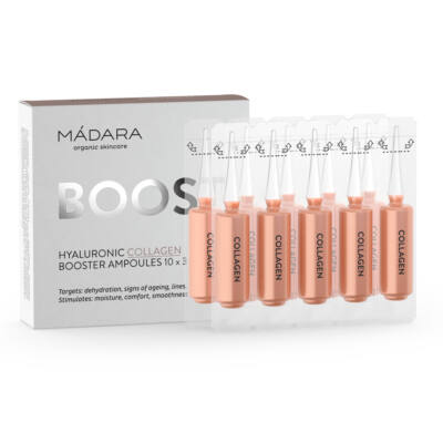 Mádara Hyaluronic Collagen Booster ampullák (10×3 ml)